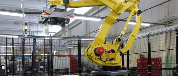 Robot Pallettizzatore Multifunzione per prodotti di ogni forma e dimensione